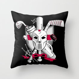 TMNT Casey Jones Throw Pillow