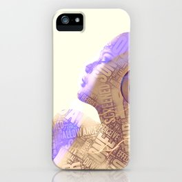 Your Words Are Meaningless II iPhone Case