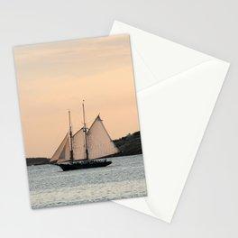 Sunset Sail Stationery Cards