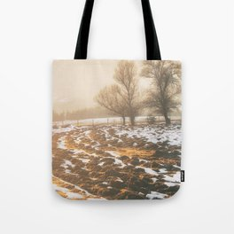 Morning field Tote Bag