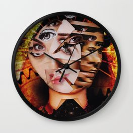 Ego Defragmentation Wall Clock