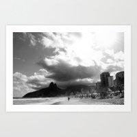 rio de janeiro Art Prints featuring High Rio de Janeiro by Bob Pestana