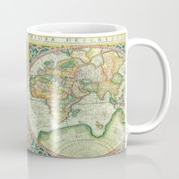 uncharted Mugs featuring Terra Firma by Catherine Holcombe