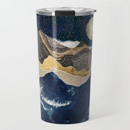 Midnight Winter Travel Mug