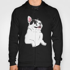 Boston Terrier Side-Eye Hoody