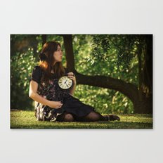 tick-tock Canvas Print