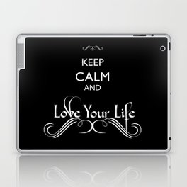 'Love Your Life' Laptop & iPad Skin