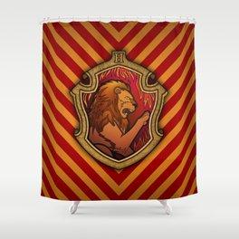 Hogwarts House Crest - Gryffindor Shower Curtain