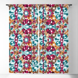 Moroccan Mosaic Blackout Curtain