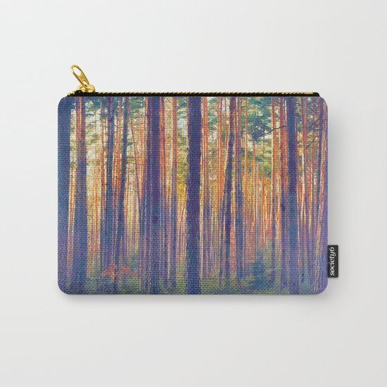 Forest - Filtering light Carry-All Pouch