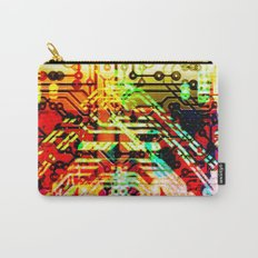 Color circuit Carry-All Pouch