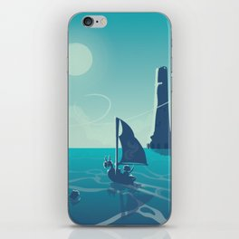 Zelda Wind Waker iPhone Skin
