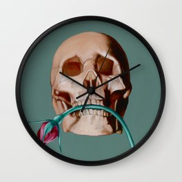 Nip it in the Bud Wall Clock