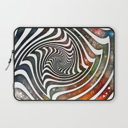 Pouring Dimensions into the Distal Void Laptop Sleeve