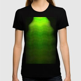 Abstract Green Weave T-shirt