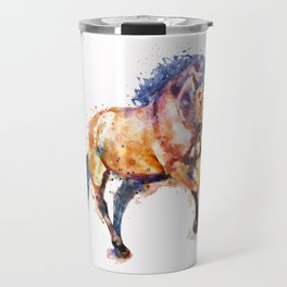 Running Horse Travel Mug