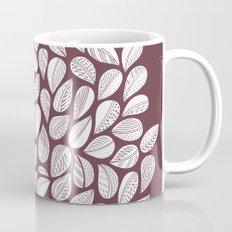 Deep Purple Leaf Mug