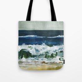 Waves 2 Tote Bag