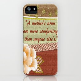 A Mother's Arms iPhone Case