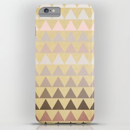 Muted Triangles iPhone Case