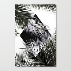 Palm Leaves 3 Geometry Canvas Print