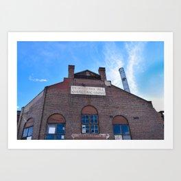 Denver Rock Drill Manufacturing Art Print