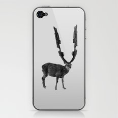gun deer iPhone & iPod Skin