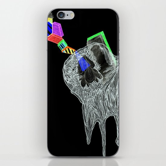 NEGATIVE HEARTACHE AHEAD iPhone & iPod Skin