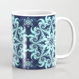 The Blue Snowflake I Coffee Mug