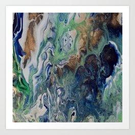 Helioporacea Art Print
