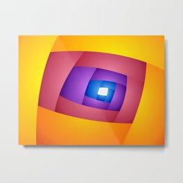 ENTRY: Abstract Art # 01 Metal Print