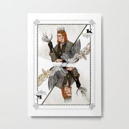 King of Wings Metal Print