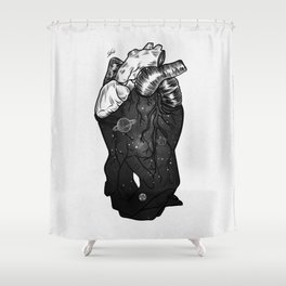 Hands on. Shower Curtain