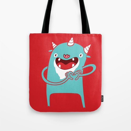 Monster Hearts You! Tote Bag