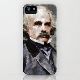 Nathaniel Hawthorne, Author iPhone Case