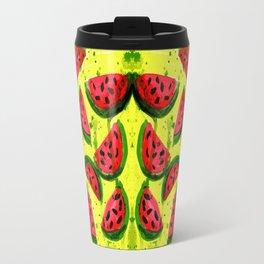 Watermelon Meltdown Travel Mug