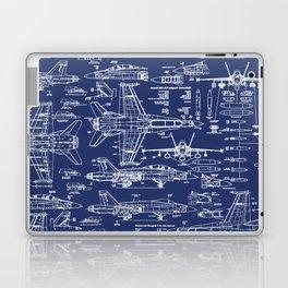 F-18 Blueprints Laptop & iPad Skin