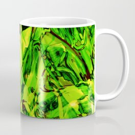Fluid Painting 3 (Green Version) Coffee Mug
