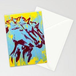 Three Horses Stationery Cards