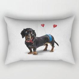 Butt (Wordless) Rectangular Pillow