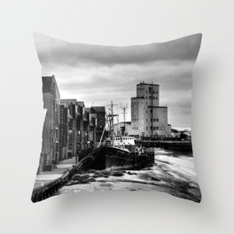 River Hull Throw Pillow