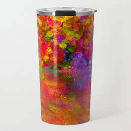 Potpourri flowers reflection Travel Mug