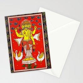 Hindu Lord Brahma 1 Stationery Cards