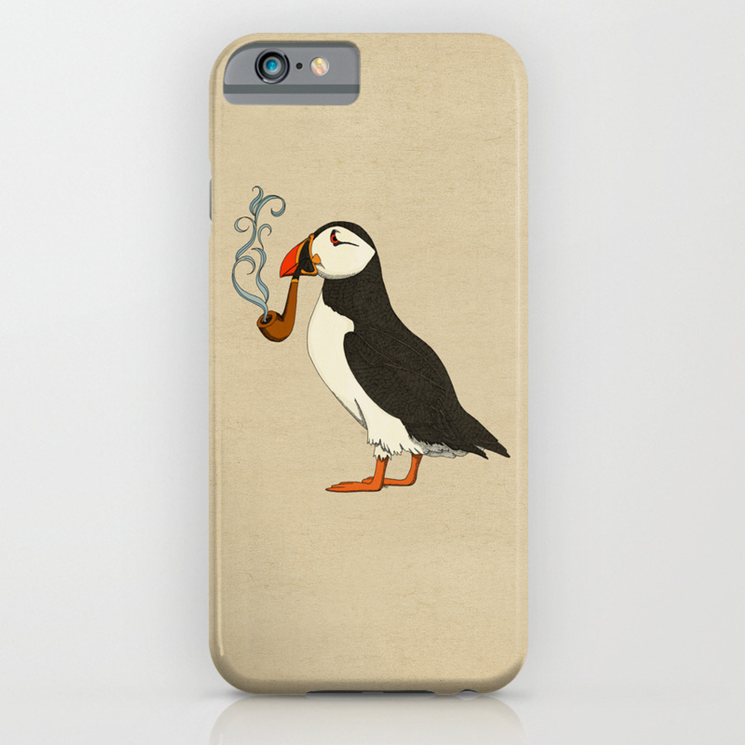 Puffin' iPhone Case