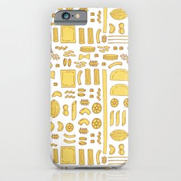 Pasta, a pattern. iPhone Case