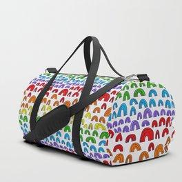 Rainbow Meta Duffle Bag