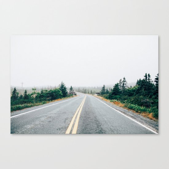 Nature drive Canvas Print