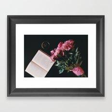 Romantic Propose  Framed Art Print