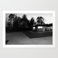 north carolina Art Prints featuring North Carolina by Mary Francis