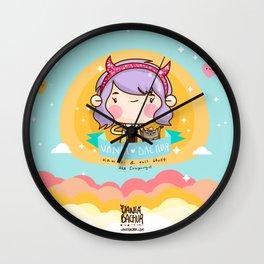 Kawaii heaven Wall Clock